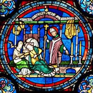 Miracle Window in Canterbury Cathedral
