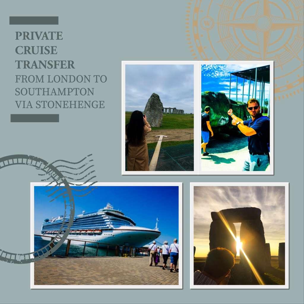 Private Cruise Transfer From London to Southampton Via Stonehenge