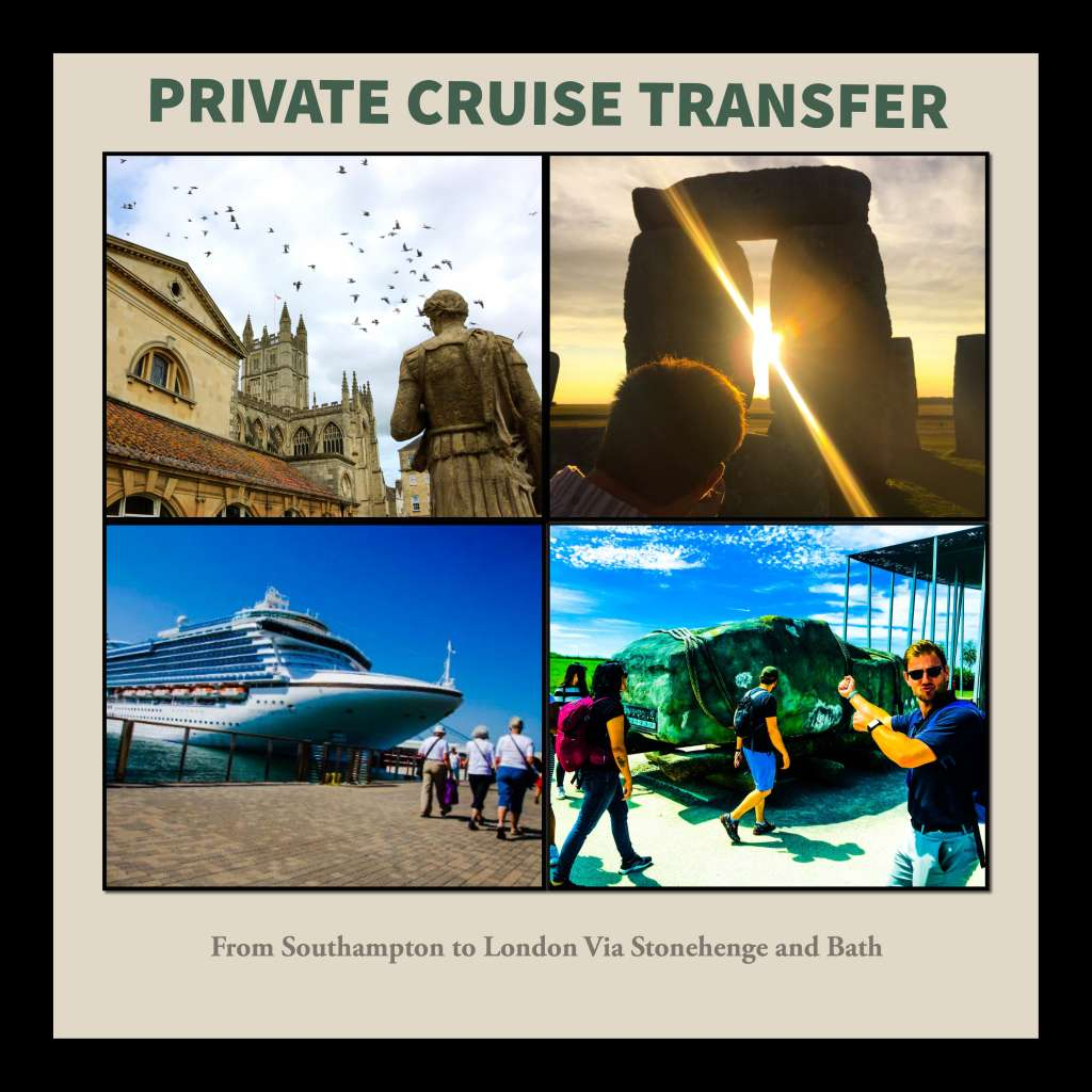 Private Cruise Transfer From Southampton to London Via Stonehenge and Bath