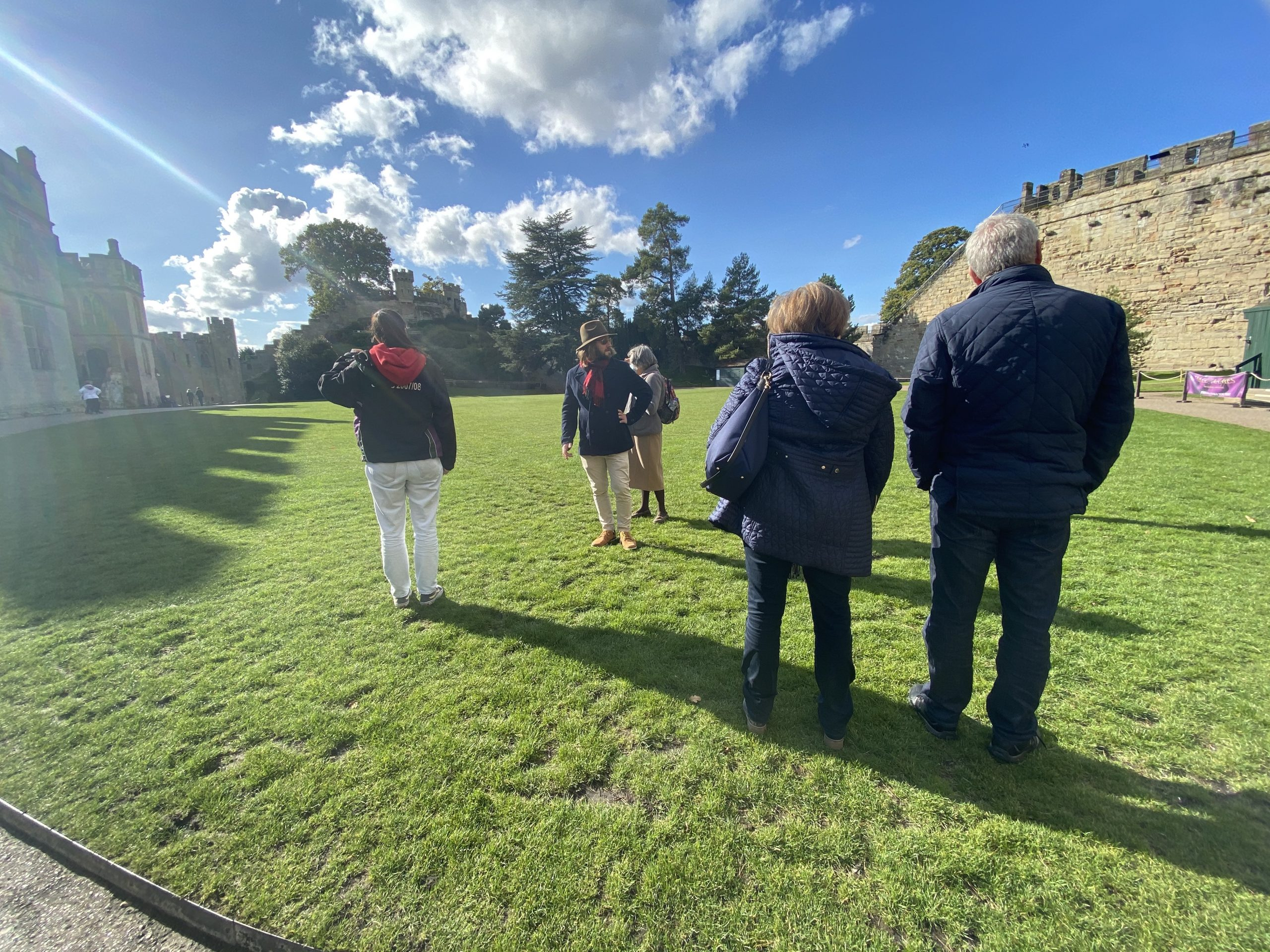 Guided tour of Warwick Castle