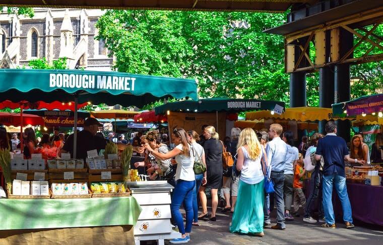 Borough Market Food Tasting Tour